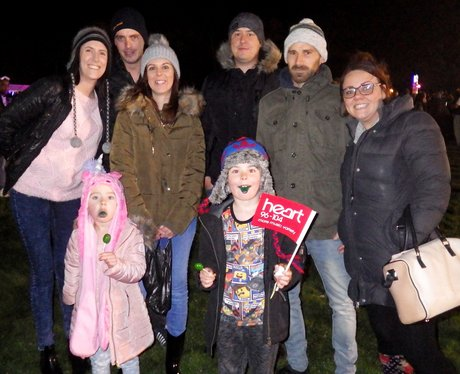 Luton Popes Meadow Fireworks 2015