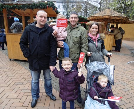 Family Day at Birmingham's Xmas Markets