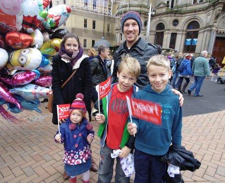 Family Day at Birmingham's Xmas Markets