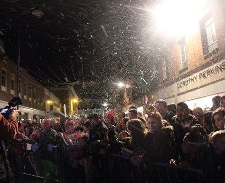 Heart Angels: Canterbury Christmas Light Switch On