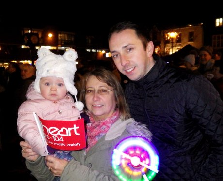 Hitchin Christmas Light Switch On 2015
