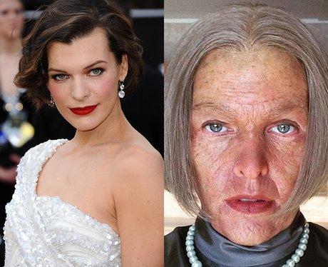 Milia jovovich movie transformation instagram canv