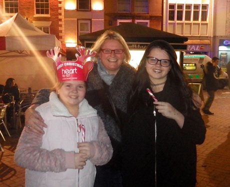 Northampton Borough Christmas Light Switch On 2015