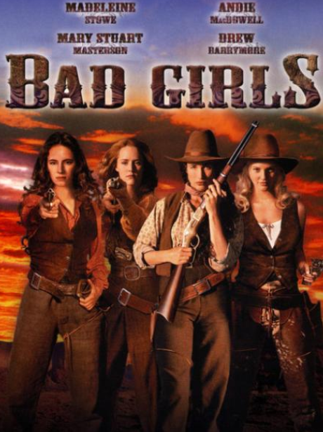 Bad Girls Film Poster Drew Barrymore