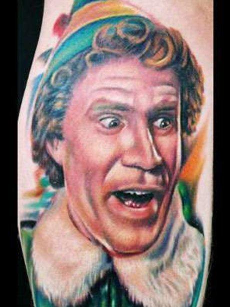 Elf tattoo