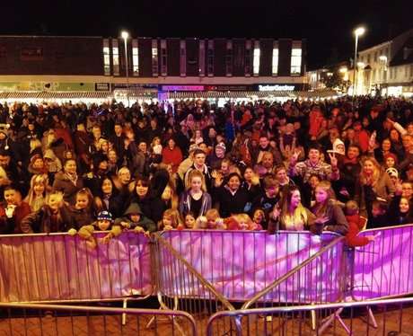 Ely Market Place Christmas Light Switch On