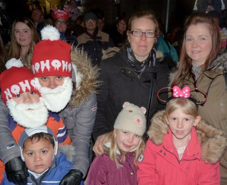 A packed out Chelmsford High street were dazzled n