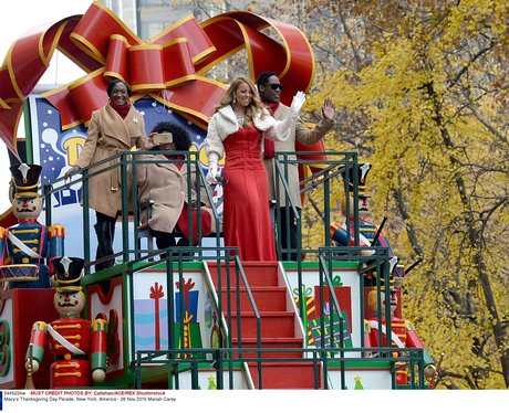 Maria Carey Thanksgiving Day Parade New York