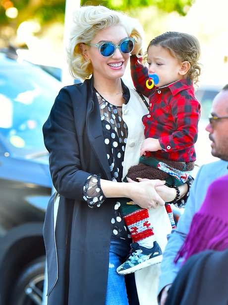 Gwen and her son