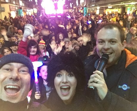 Hemel Hempstead Christmas Tree Lights Switch On