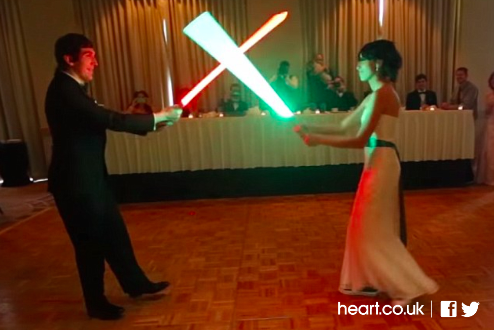 Lightsaber Couple