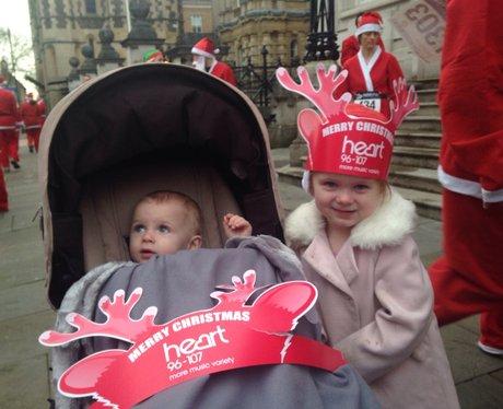 Heart At The Reading Santa Run