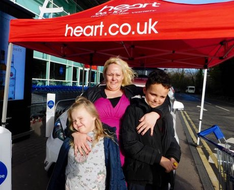 Heart's Christmas Carma at Tesco Culverhouse Cross