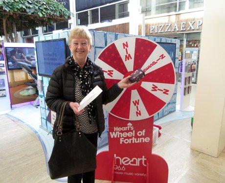 Whittlebury Hall Wheel of Fortune 2015