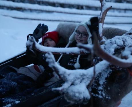 lapland sleigh