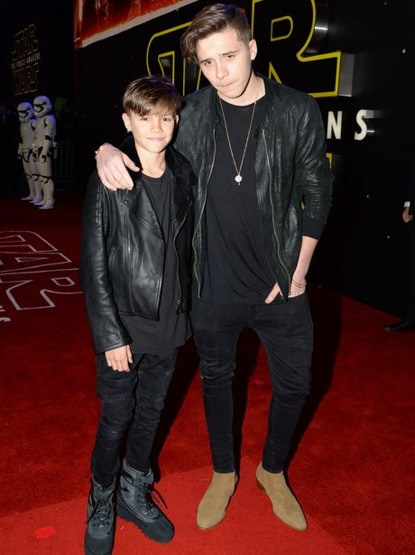 Brooklyn Beckham and Romeo