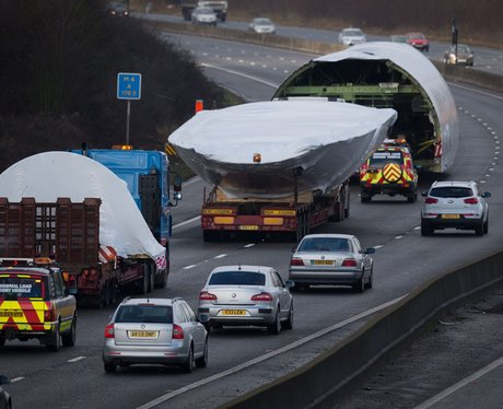 FEBRUARY: Boeing 747 On the M4