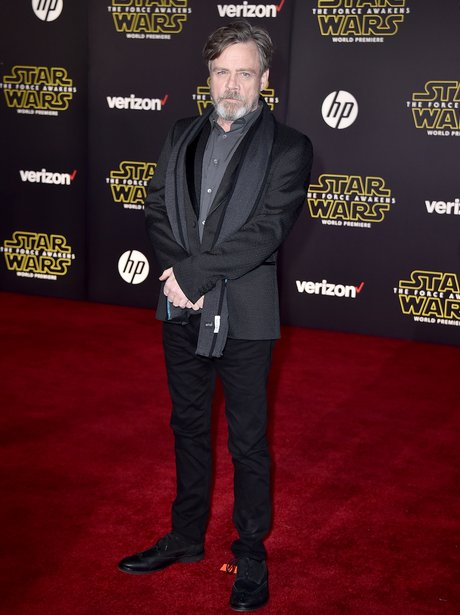 Mark Hamill Star Wars premiere la