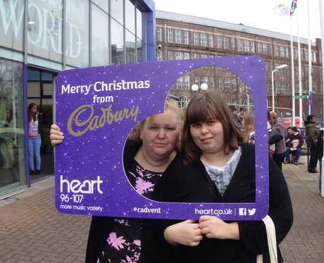 Heart at Cadbury World!