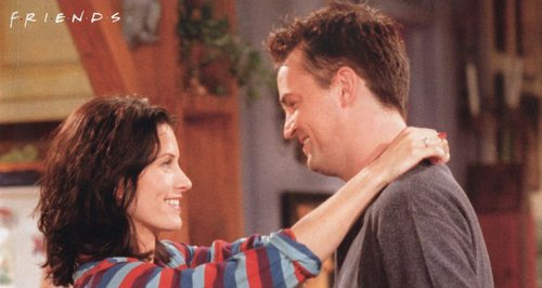 How long were monica and chandler dating