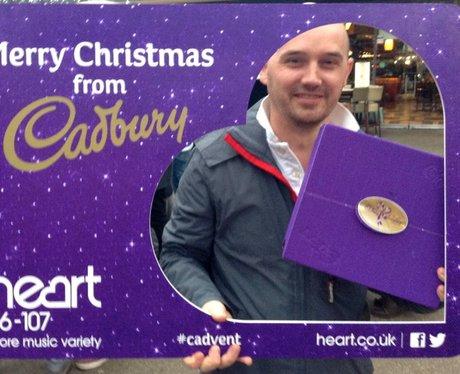 Shakin' Stevens at Old Spitalfields with Cadbury!