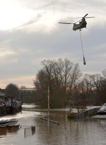 Flooding Foss Barrier Repair York