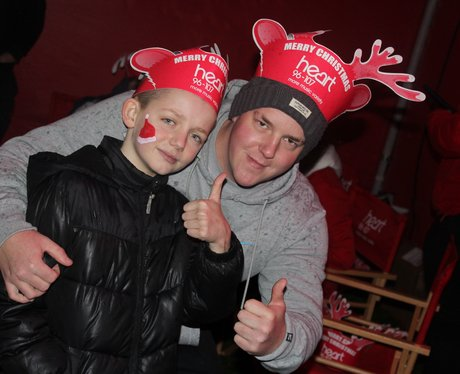 Heart Angels: Middlesbrough Christmas Lights