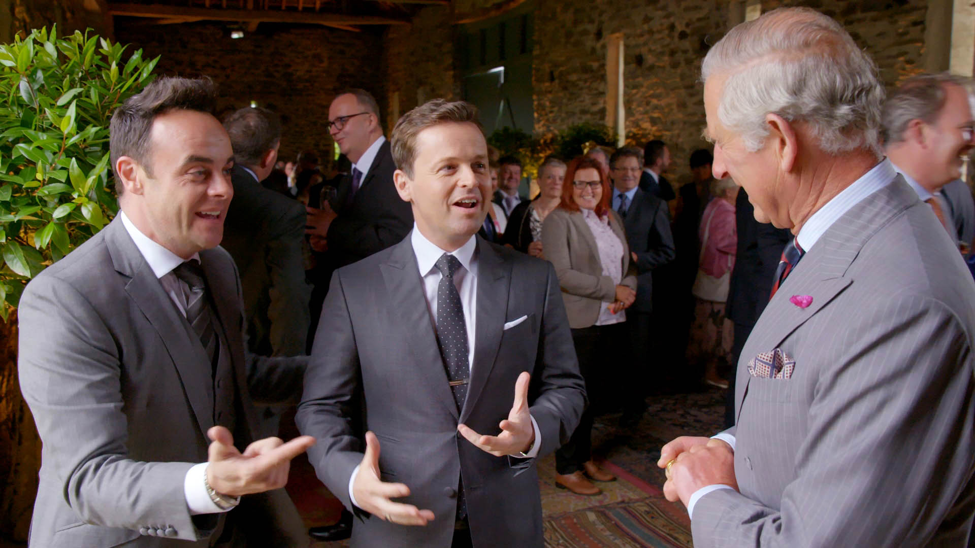 Ant and Dec Prince Charles