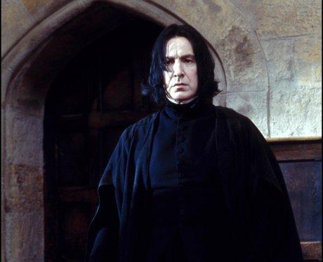 Alan Rickman in Harry Potter