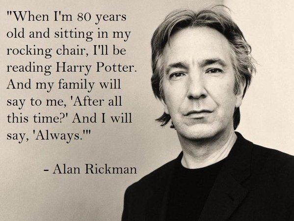 Alan Rickman Severus Snap Meme
