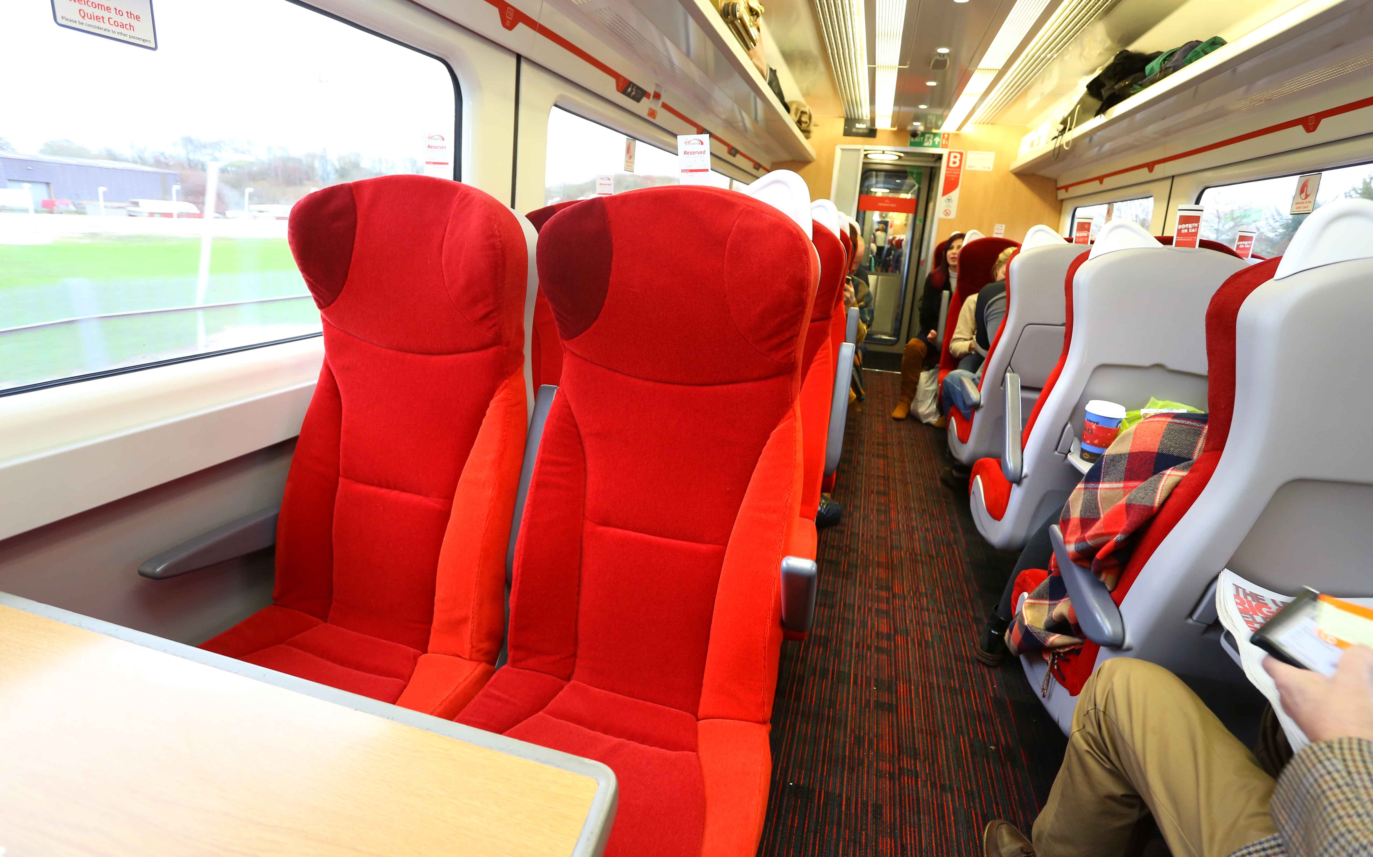 Train Seats Standard Class