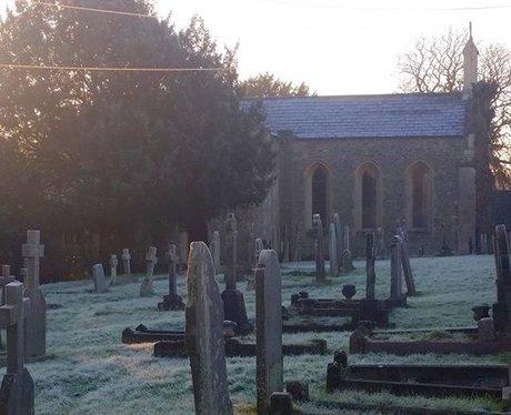 Frosty church