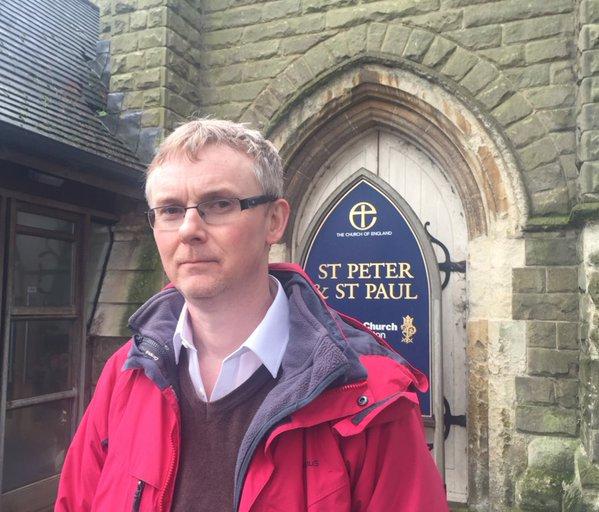 Paul Tullet vicar Water Orton