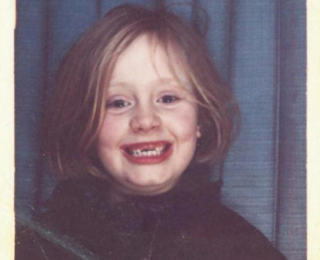 Adele childhood pic