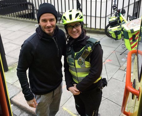 David Beckham paramedic