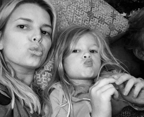 Jessica Simpson and daughter Instagram