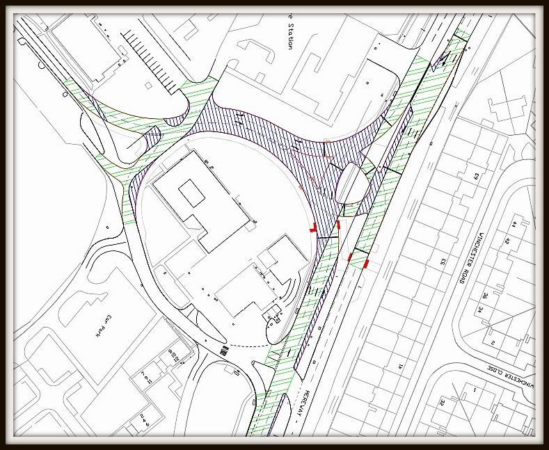 Mereway Roadworks Schematic