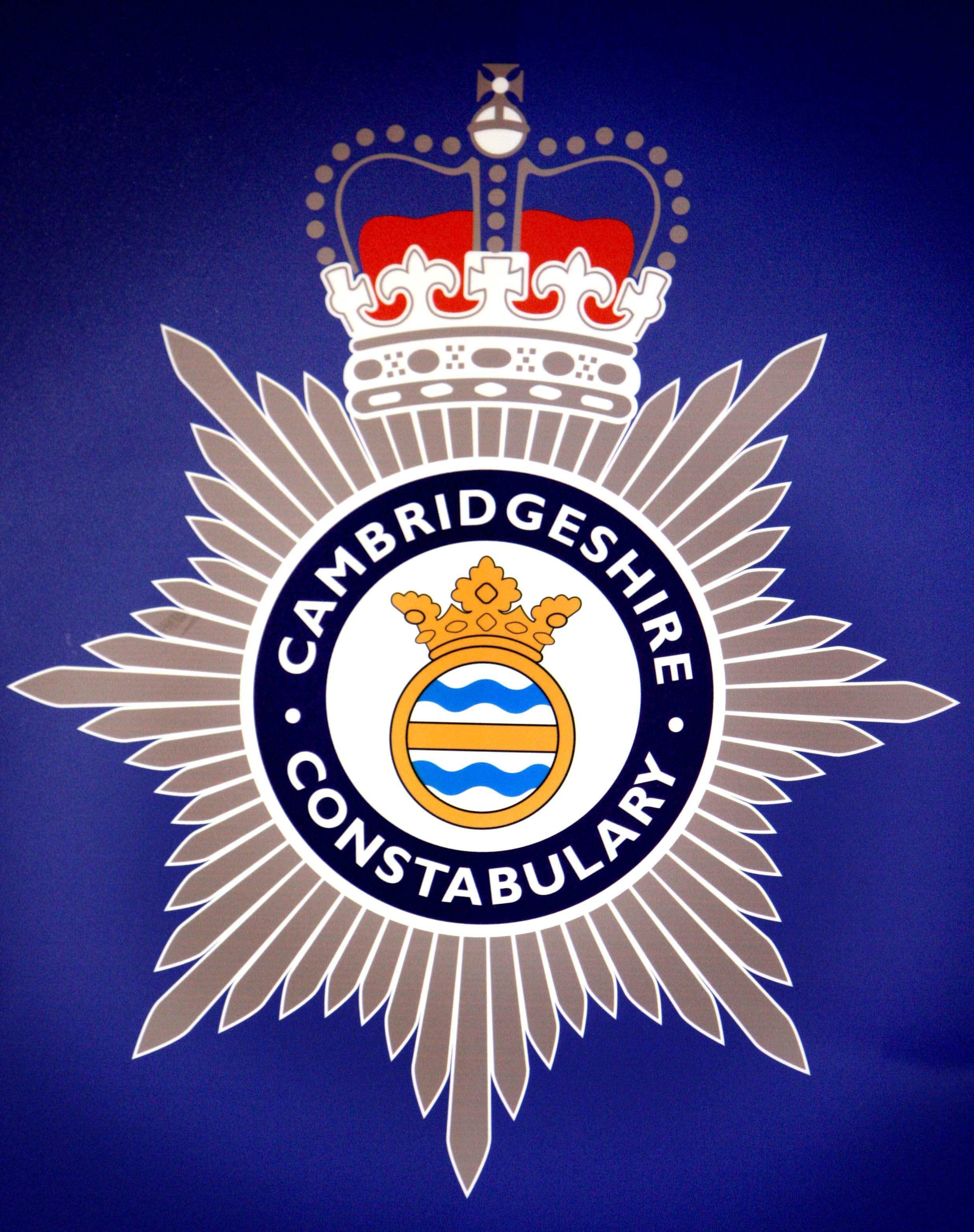 Cambridgeshire Police Logo - Blue