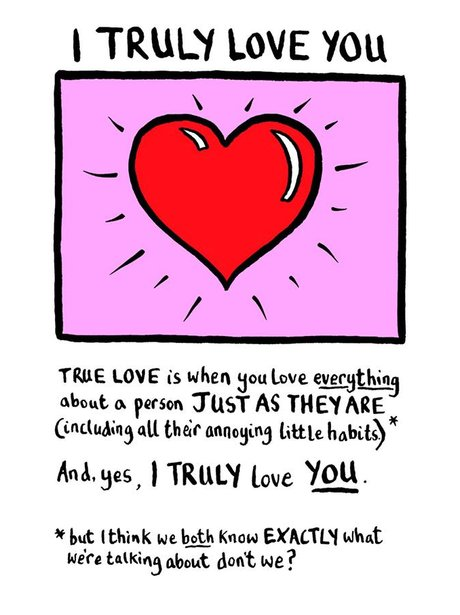 Funny Valentine's Cards Scribbler