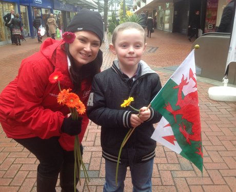 Love is in the air at the Big Heart of Merthyr Tyd