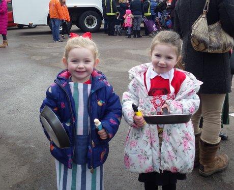 Olney Pancake Race 2016