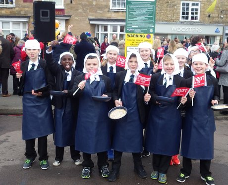 Olney Pancake Race 2016
