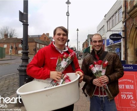 Valentines Rose Giveaway with the Maltings Shoppin
