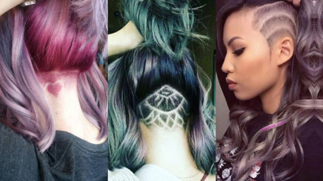 Secret hair tattoos are officially a thing heart for Hair tattoo cost