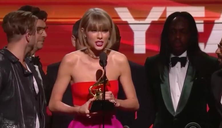 Taylor Swift Grammy Speech
