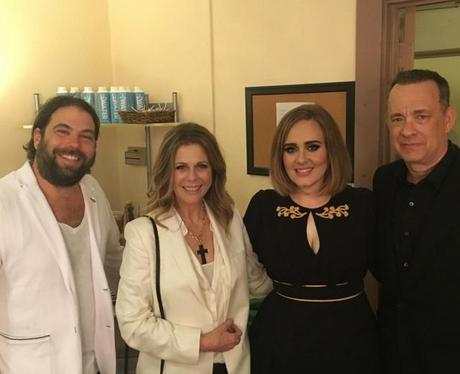 Stars with Adele