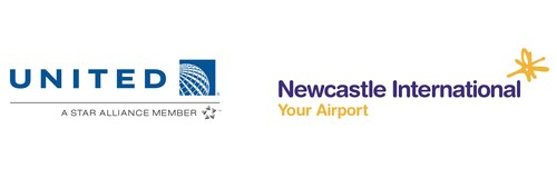 United Airlines and Newcastle International Airpor
