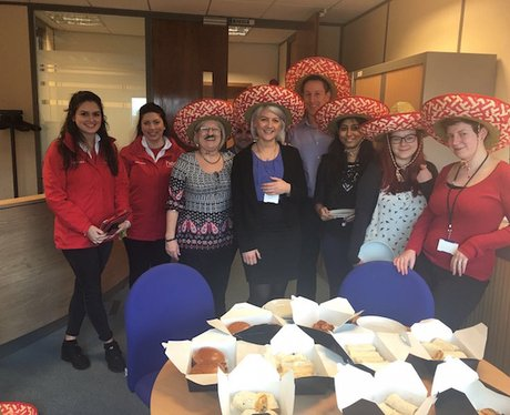 Heart Angels: Chiquito lunch drops 2016