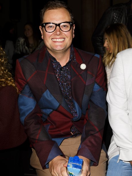 Alan Carr at London Fashion Week AW16