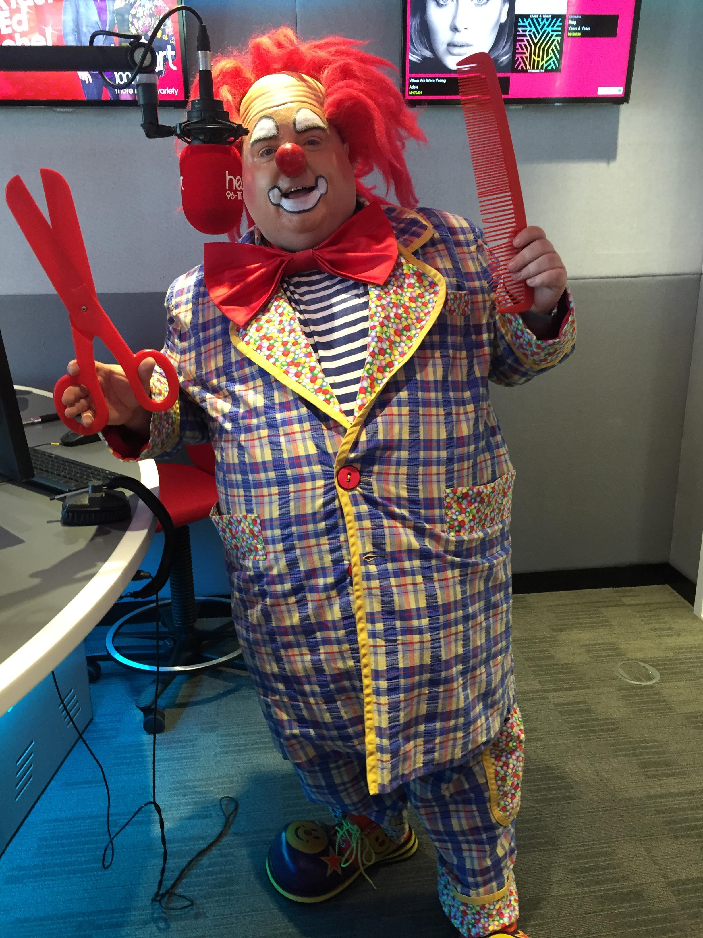 Clown bibbledy